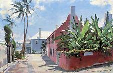 John Stobart Print - Bermuda: Old St. George's