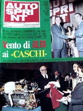 Autosprint 50 1978 Umberto Agnelli Ing. Chiti ALfa Romeo caschi d'oro