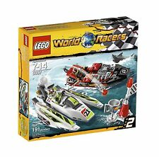 LEGO WORLD RACERS JAGGED JAWS REEF (8897) - RETIRED - NEW IN FACTORY SEALED BOX
