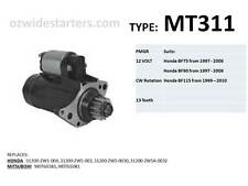 Honda starter motor suits BF75, BF90 from 1997-2006, BF115, BF130 from 1999-2014