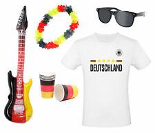 EM 2021 Europameisterschaft Sonnenbrille T-Shirt Hawaiikette, Becher E-Gitarre
