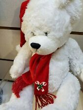 "Plush 16"" christmas teady bear ftd"