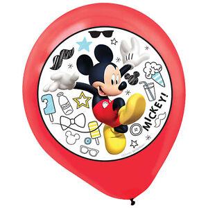 Mickey On The Go Latex Balloons (5)