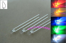 100pcs, 3mm Red Yellow Blue Green White Flickering LED Candle Leds Mix Kits New