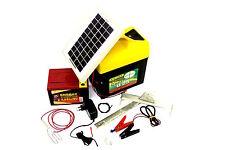 Weidezaungerät FC B25 mit Solarmodul + 9V Batterie Akkugerät Batteriegerät