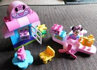 Lego DUPLO MINNIE'S CAFE SET 10830 100% COMPLETE & CORRECT AIRPLANE CAMERA CHAIR