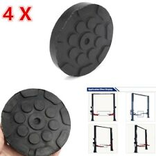 4X Heavy Duty Round Lift Pads, Round replacement rubber pads for car lifts