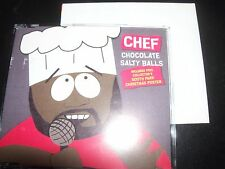 Chef (Isaac Hayes) Chocolate Salty Balls (South Park) Aus Poster Pack CD Single