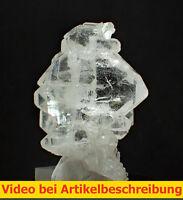 5791 Fadenquarz Bergkistall Waziristan Pakistan  mineraux specimen Stufe MOVIE
