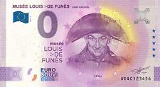 """BILLET 0  EURO LOUIS DE FUNES """"bicorne""""  FRANCE   2021  NUMERO DIVERS"""