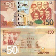 GHANA  50 Cedis 2015 UNC P 42 c