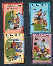 Uganda 1989 World Cup 4v SG 682/5 MNH