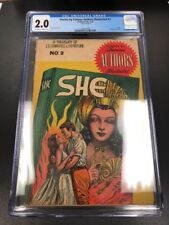 CGC 1950 Stories by Famous Authors Illustrated #3 Graded 2.0