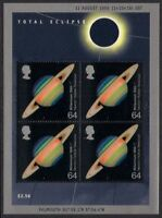 GB 1999 Commemorative Stamps~Eclipse~ M/S~Unmounted Mint Set~UK