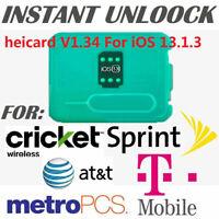 Unlock Sim Turbo Card V1.34 for iPhone 11 Pro Max XS XR X 8 7 6S Plus iOS 13.1.3