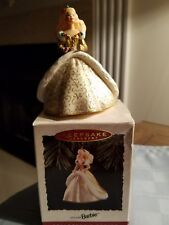 1994 Holiday Barbie Hallmark Ornament Gold/Dazzling Gown Mattel #2
