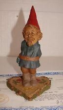1984 Tom Clark Gnome Val Resin Figurine Cairn Studio #20 #1018 W/Coa