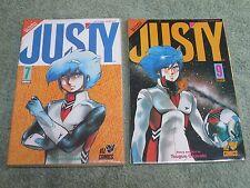JUSTY by Tsuguo Okazaki Complete 9 issues No's 1 to 9 Viz Comics mini-series!