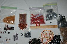 Beads jewelry making glass stone metal lot 9.5 pounds