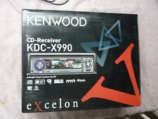 KENWOOD EXCELON KDC-X990, 24BIT DAC, 5V GOLD 3 SETS PREAMP, NIB!!!