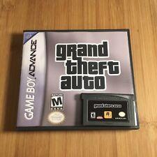 Custom Grand Theft Auto Gta w/ New Case - Nintendo Game Boy Color Gbc - Usa!