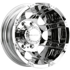 "Vision 715 Crazy Eights 16x6 8x170 -137mm Chrome Wheel Rim 16"" Inch"