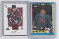 JOE SAKIC  ROOKIE CARD,  AND JERSEY CARD LOT #4