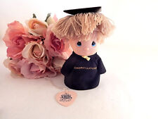 Graduation Boy Figurine VTG 1991 Precious Moments Enesco Keepsake Gift Doll