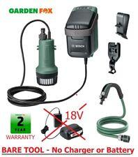 BARE TOOL Bosch 18V GardenPump 18 Rainwater Garden Pump 06008C4201 4059952547879