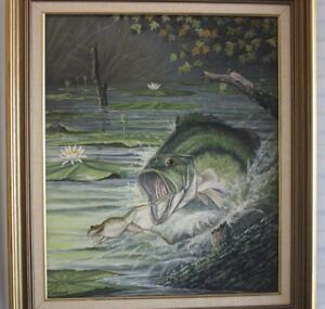 J. W. THRASHER Oil Painting