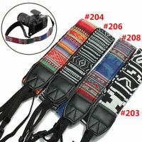 Camera Shoulder Neck Nylon Strap Belt For Panasonic SLR DSLR Nikon Canon Sony