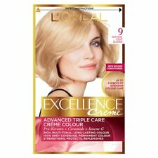 Loreal Excellence 9 Light Blonde Radiant, even, healthy-looking colour