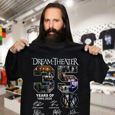Dream Theater 35 Year Of 1985-2020 All Signed Gifts Fan Music Band T-Shirt S-5XL
