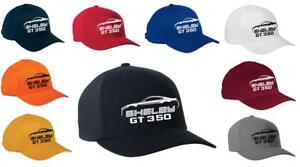 2016-19 Shelby GT350 Mustang Classic Color Outline Design Hat Cap NEW
