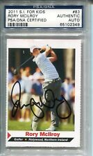 RORY MCILROY AUTOGRAPHED SIGNED PGA GOLF PSA/DNA SLABBED ROOKIE CARD