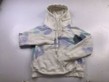 NSF Women's SOULCYCLE hoodie sweatshirt tie dye pullover size small