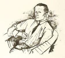 KARL HOFER - Portrait Emil Rudolf Weiss - Lithografie 1926