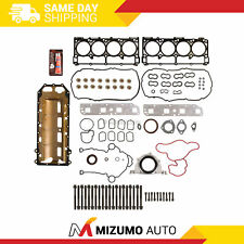 Full Gasket Set Head Bolts Fit 05-08 Chrysler 300 Dodge Charger Magnum Jeep 5.7L