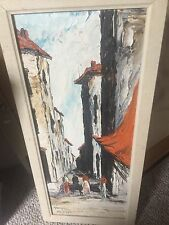Homer Costello Listed Artist. Mid Century Modern