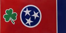 Wholesale Lot of 6 Ireland Irish Shamrock State Tennessee Decal Bumper Sticker