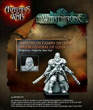 Avatars of War: Major General of Lusia - AOW70 -Warhammer Empire Character