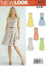 New Look 6431 Misses' Dresses  8 to 18     Sewing Pattern