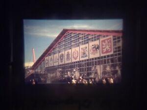 1960 Winter Olympics ~ original 35mm photo slide ~ Squaw Valley skating rink #15