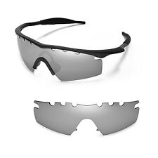 New WL Polarized Titanium Vented Replacement Lenses For Oakley M Frame Strike
