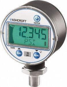 "Ashcroft 2- 1/2"" Digital Pressure Gauge Range: 30-0 Hg VAC 1/4"" NPT  66287674974"