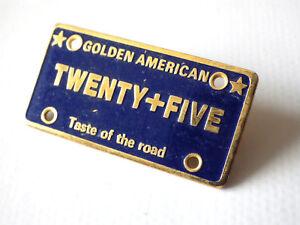 Pin's Vintage Plate Golden American Twenty+Five 90s Lot J010