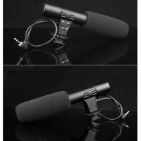 Professional 3.5mm Recording Microphone Mic for DSLR Camera DV Video Camcorder