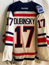 Reebok Premier Jersey NEW YORK Rangers Brandon Dubinsky  Winter Classic sz XL