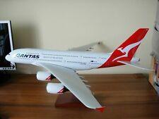 Huge 1/100 Qantas Airways Airbus A380 Travel Agents Airplane Model