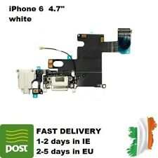 For Apple iPhone 6 Charging Port Dock White Replacement Flex Cable Connector